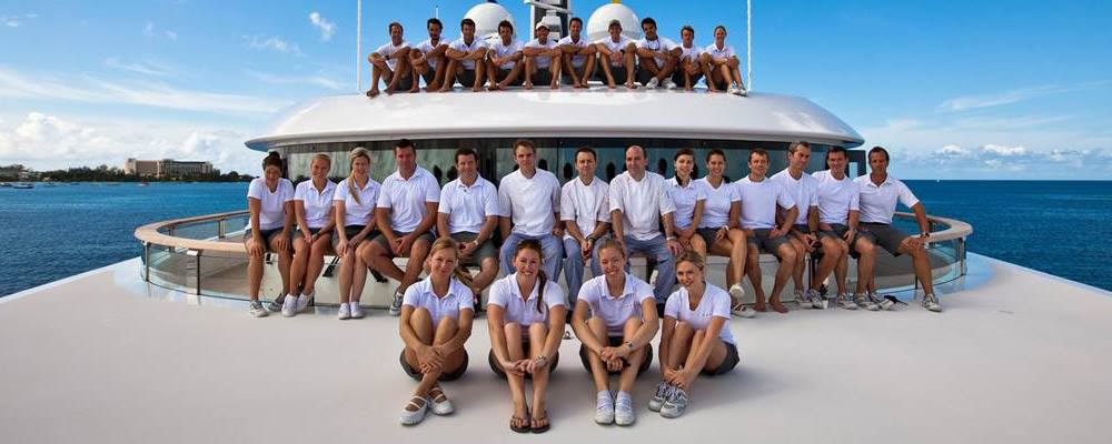 Certified Superyacht Academy Students